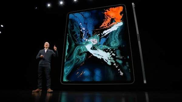 Apple presentó el nuevo iPad Pro: reconoce el rostro del usuario