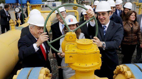 Argentina concreta su primer envío de gas a Chile