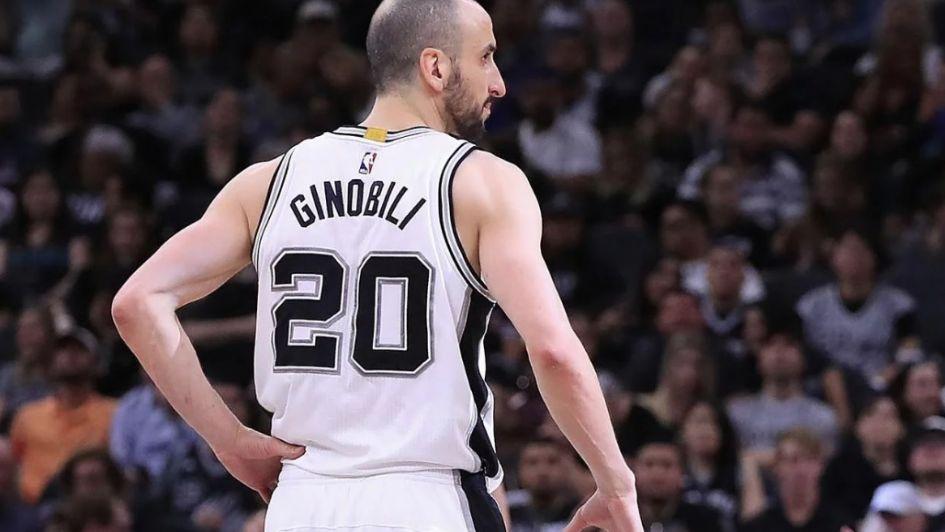 Ginóbili eterno: San Antonio retira el número 20