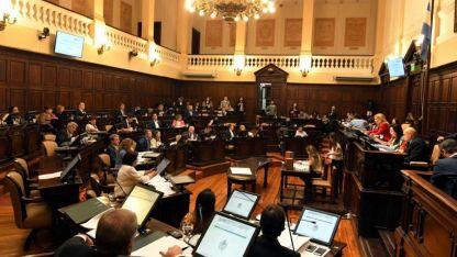 Día de trabajo. La tarea visible de los legisladores se registra en ocasión de las sesiones: martes el Senado y miércoles Diputados.