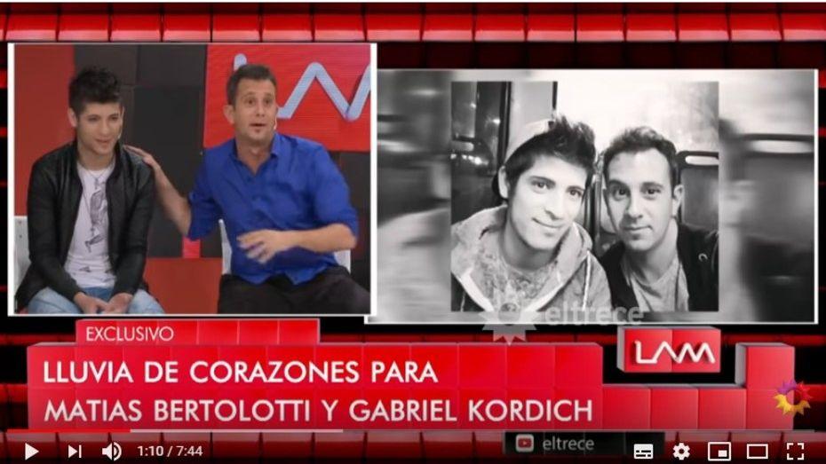 El meteorólogo Matías Bertolotti presentó a su novio: habrá boda
