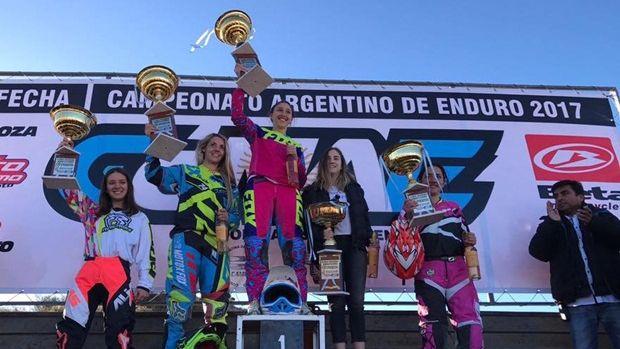 Enduro: las chicas se van a Chile