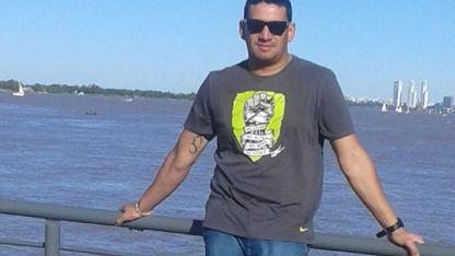 Julio Mendoza (32),el acusado matar a golpes a su pareja IvanaMilio(46)