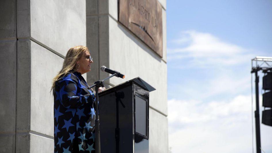 Inauguraron la plaza Don Alfredo Vila