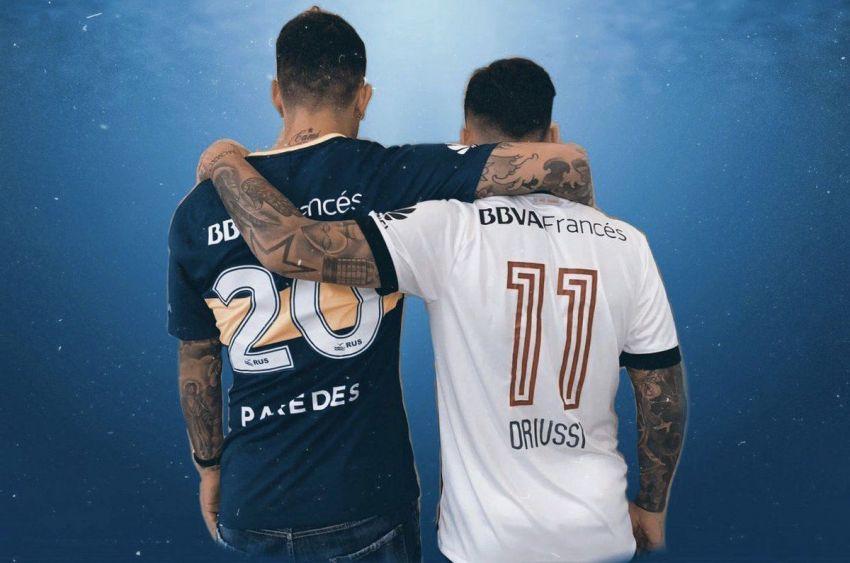 Somos rivales, no enemigos, el mensaje de Driussi y Paredes - Somos Deporte