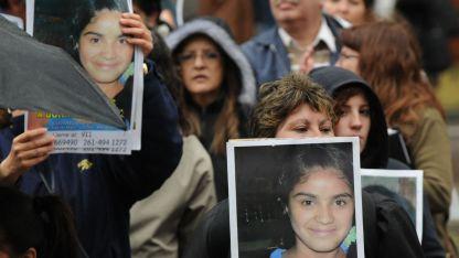La sociedad mendocina realizó muchas manifestaciones exigiendo la resolución del caso.