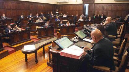 El escenario. El recinto legislativo tiene ocho citas fuertes antes del brindis por las fiestas.