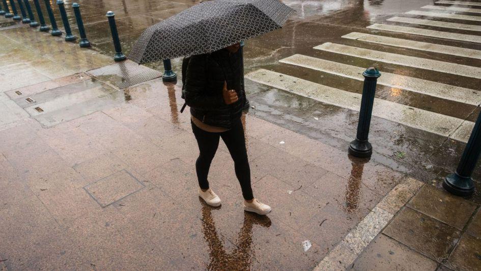 Pronóstico de tormentas y una máxima de 34 ºC — Viernes variado