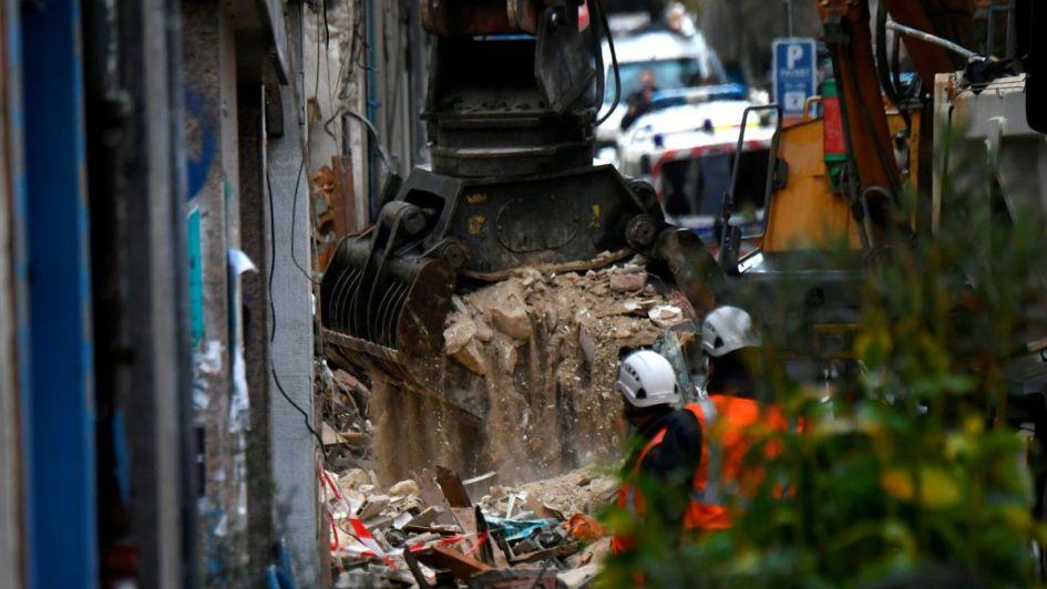 Ya son 6 los muertos por el desplome de dos edificios en Marsella