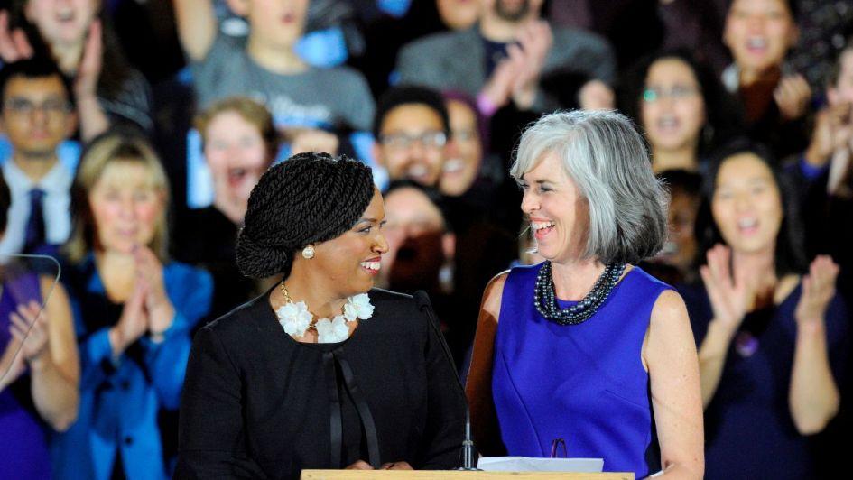 Musulmanas, indígenas y lesbianas, las mujeres crecen en el Congreso de los Estados Unidos