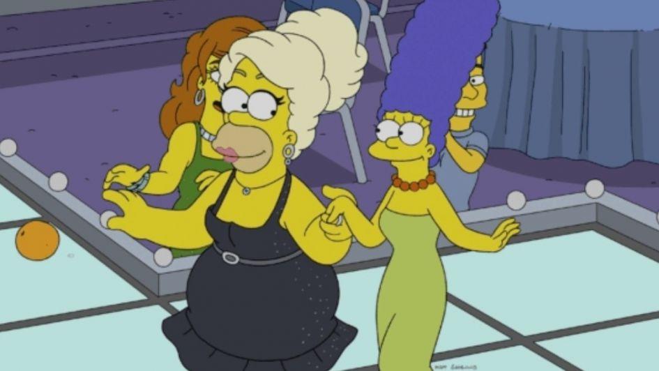 Homero será una drag queen en un episodio de