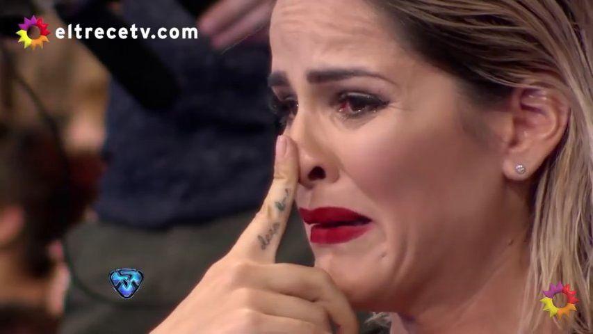 La Chipi se quebró y terminó llorando gracias a una frase de su pareja, Dady Brieva