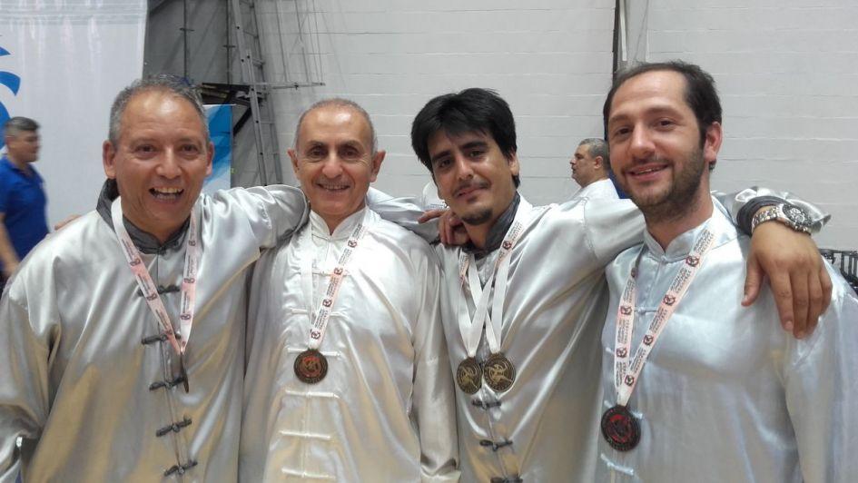 Podios mendocinos en el Panamericano de Wushu