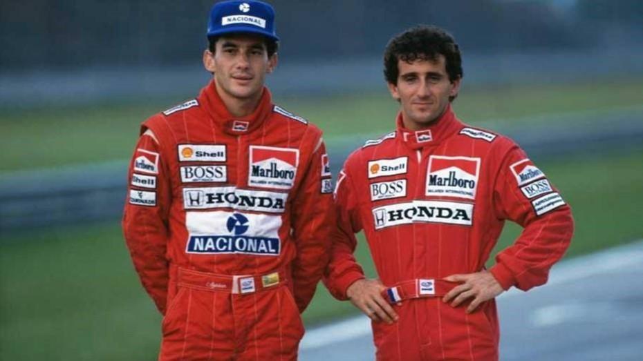 """Prost: """"Senna no estaba feliz con su vida"""""""