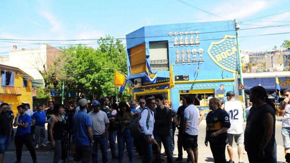 Video: para Boca - River se agotaron las entradas y hubo incidentes en La Bombonera