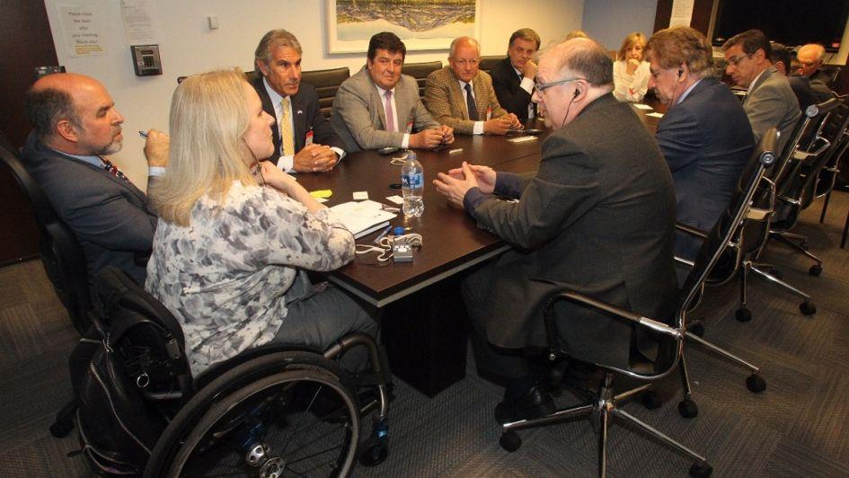 Ejecutivos mendocinos de gira por EEUU: visitaron el FMI y el Departamento de Estado