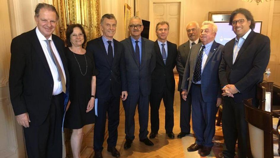 Nanclares visitó a Macri y hablaron del impuesto a las Ganancias para los jueces