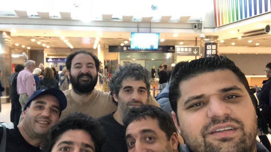 Hinchas judíos de Boca viajaron a Europa para ver el partido