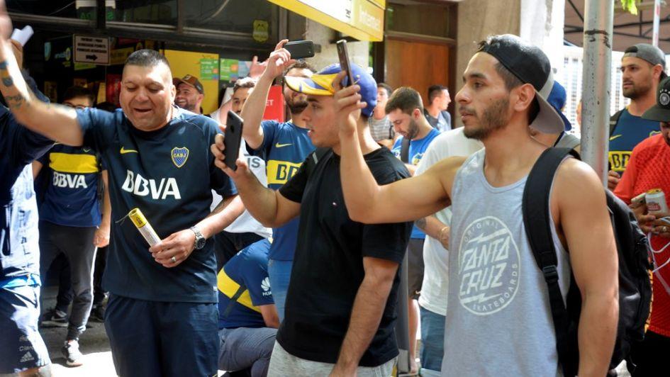 Más de 100 mendocinos viajan a La Bombonera