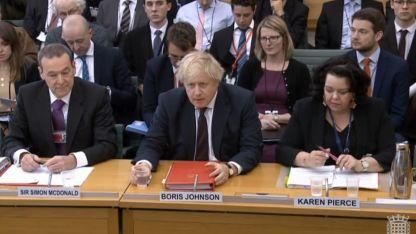 El ministro de Exteriores británico, Boris Johnson.