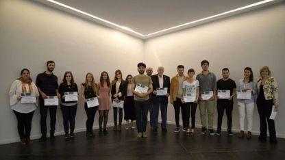 Los finalistas del certamen de Crónica en Basado en Hechos Reales.