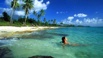 República Dominicana. Bayahibe, uno de los destinos más elegidos por sus blancas arenas.