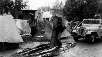 El de 1985. Provocó destrozos en el Gran Mendoza.