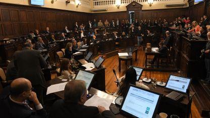 Roll-over. La discusión esta semana en la Legislatura fue de alto voltaje político.