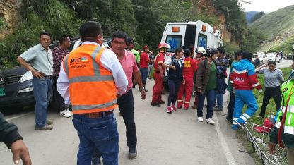 Los accidentes con muertes y heridos en rutas peruanas son constantes.