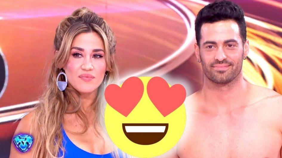 Jimena Barón se puso de novia en vivo con Mauro Caiazza