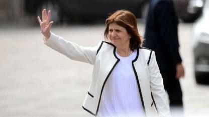Preocupación. La ministra Patricia Bullrich minimizó un consejo del gobierno de Gran Bretaña.