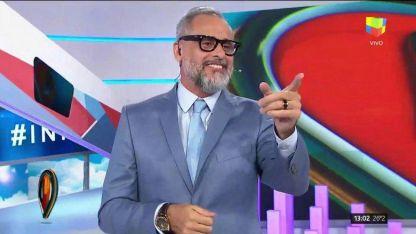 Jorge Rial volvió a Intrusos