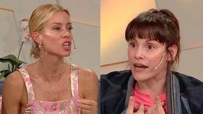 Tremendo cruce de Connie Ansaldi y Nicole Neumann al aire