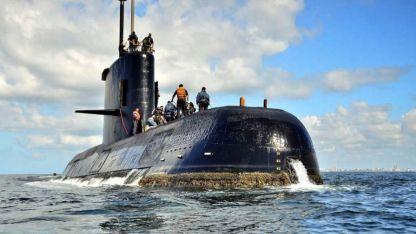 Submarino. La nave perdió contacto con su base el miércoles 15 de noviembre de 2017