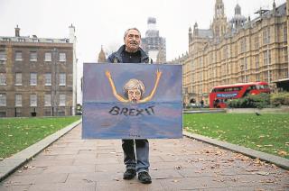 Apuros. El Brexit puso a la primera ministra del Reino Unido, Theresa May, en aprietos.