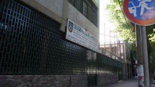 Los tres menores vendían la droga en el colegio de calle Vicente Zapata.