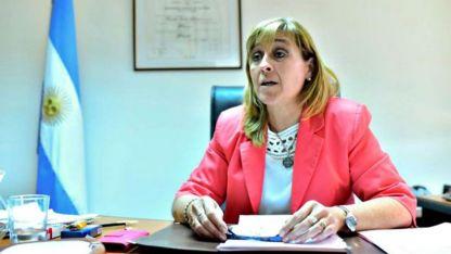 La jueza federal de la ciudad de Caleta Oliva Marta Yánez.