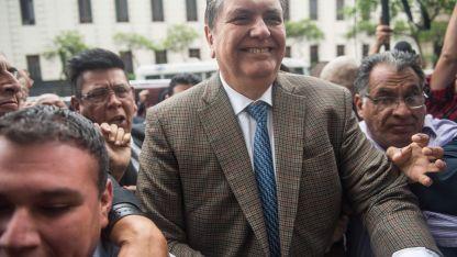 Ex mandatario. García fue dos veces presidente de Perú.