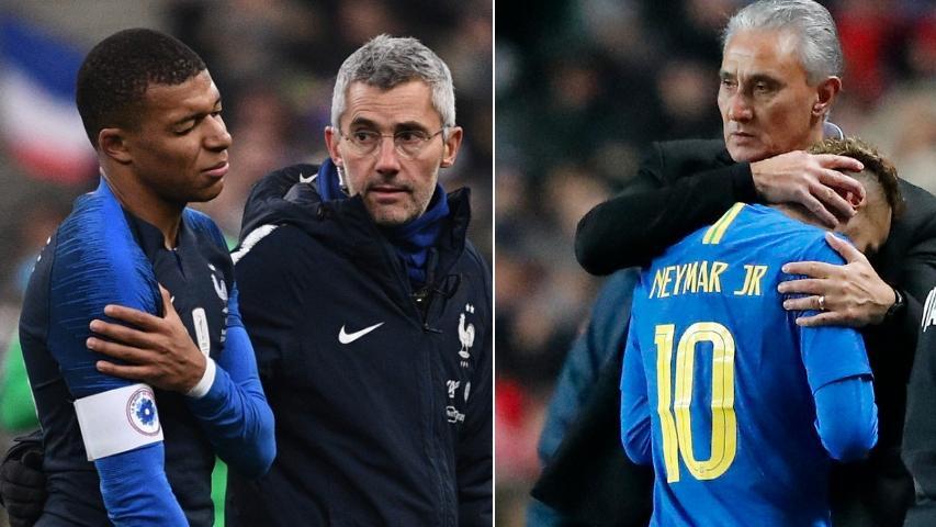 Alarma en PSG: Neymar y Mbappé se retiran lesionados en amistosos