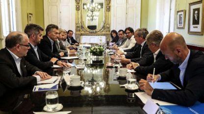 Faltazo. Tanto el diputado Mario Negri como el senador Luis Naidenoff no asistieron a la reunión de Gabinete convocada por Macri.