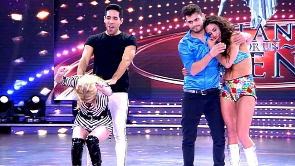La cumbia dejó a una pareja eliminada del certamen — Bailando