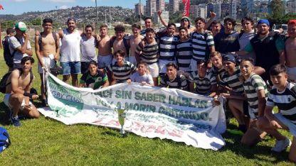 Campeones. El semillero de Universitario demostró su jerarquía y talento en la República de Chile.