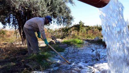 Derroche. Mendoza se encuentra en emergencia hídrica desde el 2010 de forma continua y exigen un plan para revertir la situación.