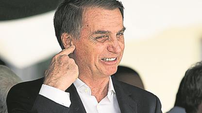 Conciliador. Bolsonaro se mostró abierto a una salida.
