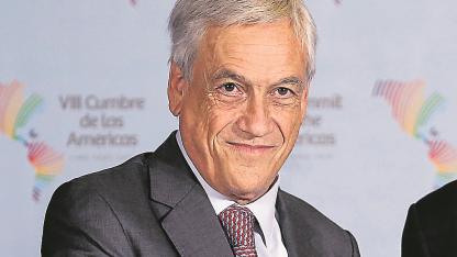Piñera. El presidente chileno visitó la región de La Araucanía.