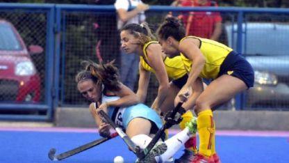 Un intenso y emotivo juego protagonizaron Patitas y Canaritas en la final del Clausura