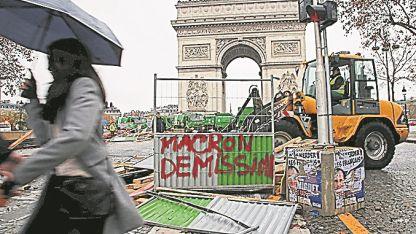 Disturbios. Violentas protestas en Francia.