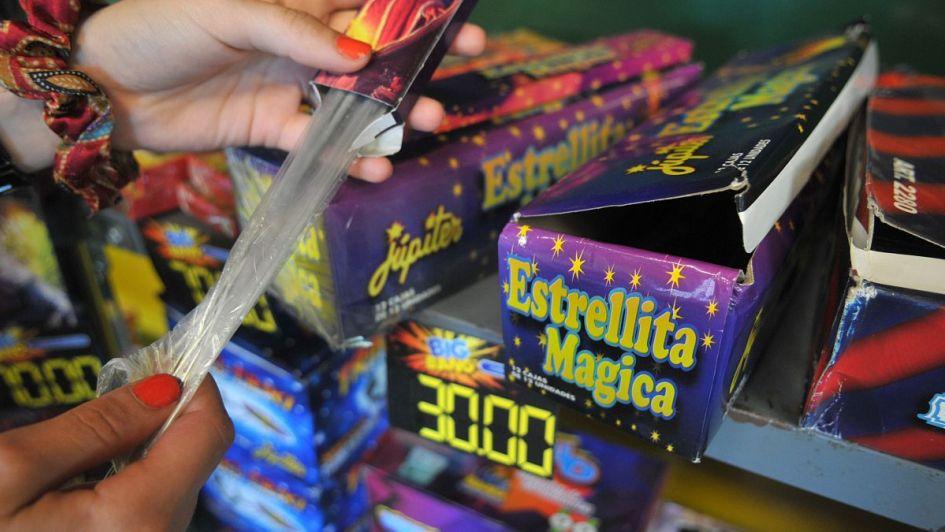 Sólo se va a poder vender  pirotecnia  en siete municipios
