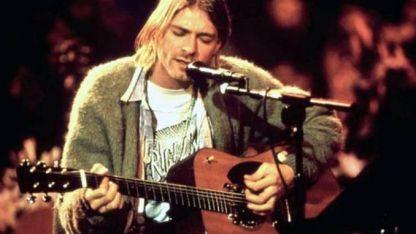 Kurt Cobain. Con su suicidio inauguró el reguero de infortunios del grunge.