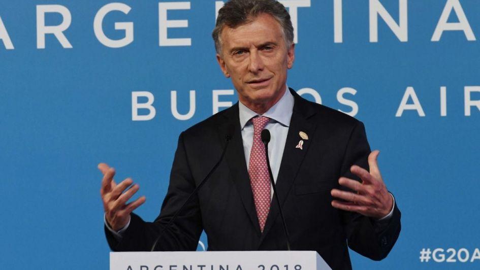 Macri, en el cierre del G20:
